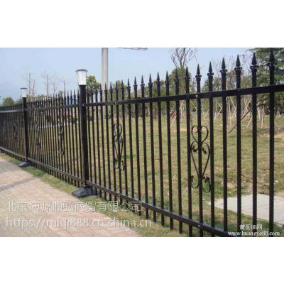 武汉组装围墙栅栏,武汉小区围墙栏杆,仿竹节篱笆围栏HC,锌钢草坪围栏Q235,
