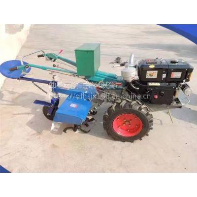 10马力手扶拖拉机配套多种农机具 旋耕机 开沟埋藤机
