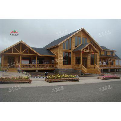 供应厂家直销原木风格度假木屋
