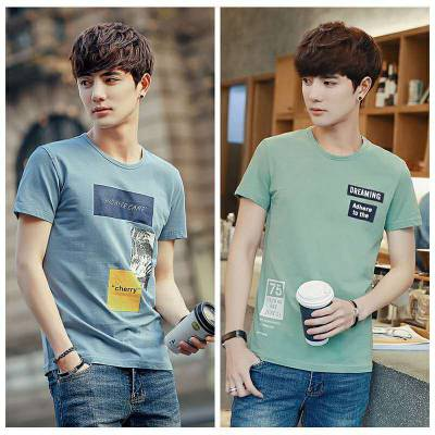 男士韩版T恤厂家直销便宜服装货源批发几块钱批发处理