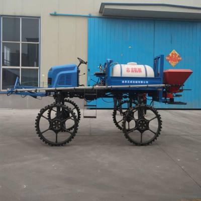 志成牌座驾自走式四轮打药机 小米玉米作物喷药车 水稻施肥运苗机