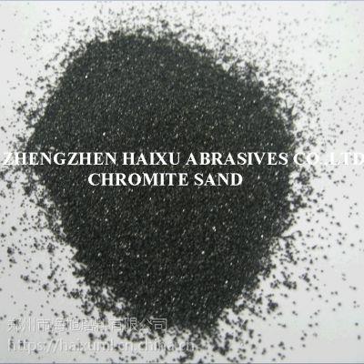 不黏连100-120#铸钢添加高强度铬矿砂热导率高铬铁矿砂