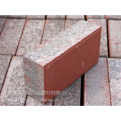 实心砌块普通混凝土北京爱尔透水砖优质面包砖