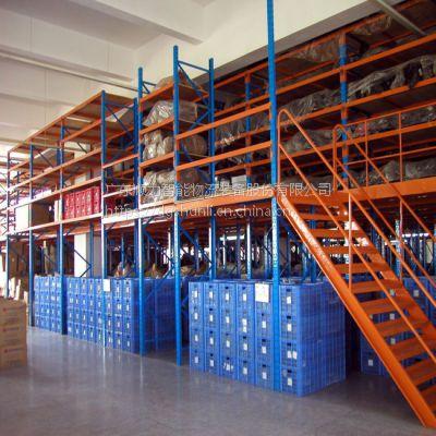 承载能力强、整体性好、承载均匀性好、精度高、表面平整、易锁定的组合阁楼平台