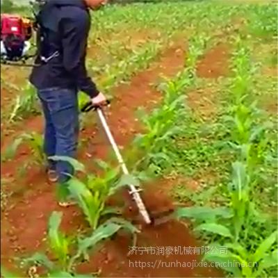 汽油动力背负式锄草机 全自动果园松土机深耕机