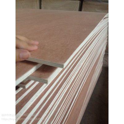 胶合板厂家直销一次成型铅笔柏面杨木底4mm四合板薄板专门出口印尼菲律宾等国家