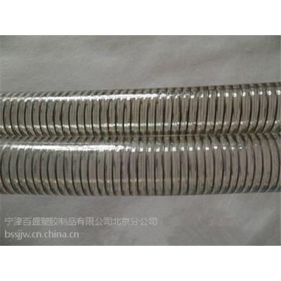 耐磨透明钢丝管内壁平滑输送管