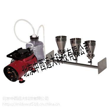 中西三联溶剂抽滤器 型号:HD26-3A 库号:M407764