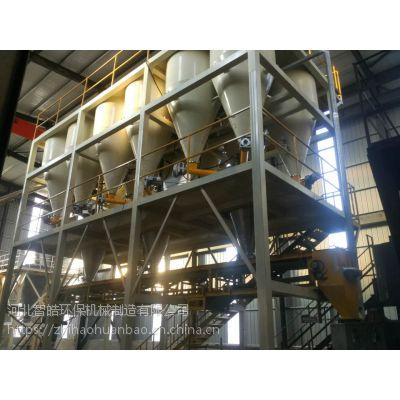 钢铁行业生产好伙伴,智皓钢铁保护渣全自动配混供料系统