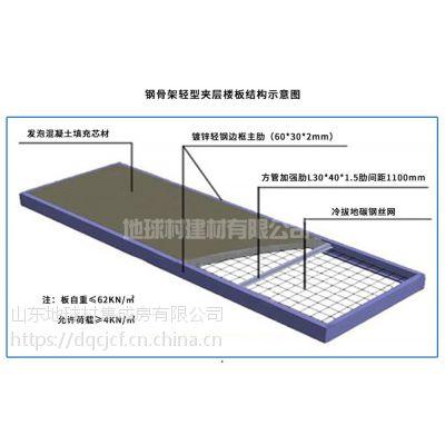 2018钢网架轻型楼板装配式建筑专用