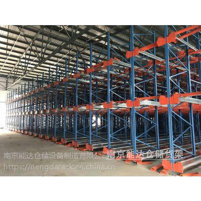 1500kg动载穿梭式货架定做_10年以上保用穿梭车立体货架_南京自动穿梭货架供应商