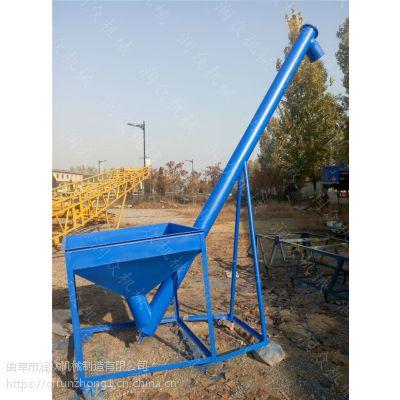 耐磨钢管粮食上料机 随车下乡收粮提升机 无缝管提升机定制厂家