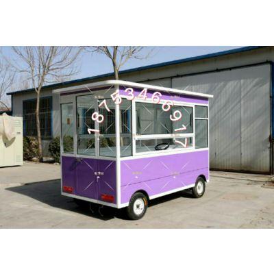 多功能可定制快餐车早餐车美食餐饮车熟食售卖车产品展示车美甲车商品售货车