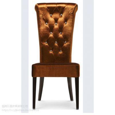 金属软包椅