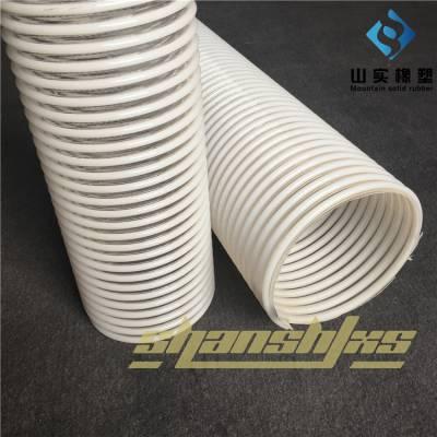 聚氨酯防静电塑筋软管 塑筋阻燃管 pu加厚软管 增强管低价促销物料传输