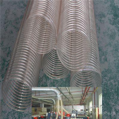 镀铜钢丝软管 PU软管