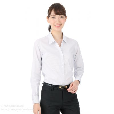 番禺区衬衫定制,市桥修身衬衫定制,女士棉麻衬衫订做,可来样定制