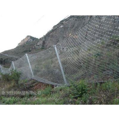 赵发高边坡防护.边坡挂网.公路边坡防护网