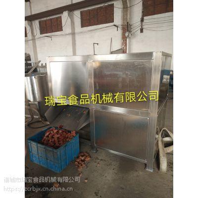 rb130冷冻鱼绞碎设备 大型不锈钢冻盘绞肉机 瑞宝品牌机械有