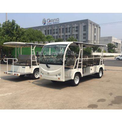 朗迈14座敞开式电动游览车 电动观光车14座LM-TC14