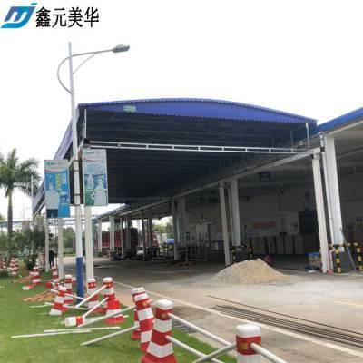 上海静安区汽车雨棚布 广告彩蓬 伸缩折叠遮阳蓬 推拉活动篷_厂家直销