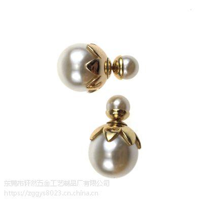 珍珠耳钉 天然淡水珍珠耳钉 耳饰 小饰品 厂家批发 925银饰品明星同款耳饰