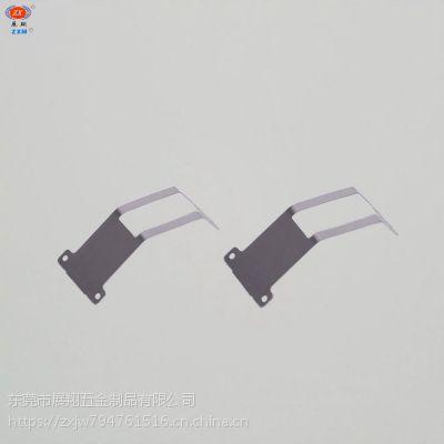 东莞厂家开模加工高精密金属片冲压 环保金属弹片定做 冲压弹片zxm-展翔