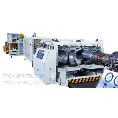 ф200-ф500PVC 双壁波纹管生产线生产线