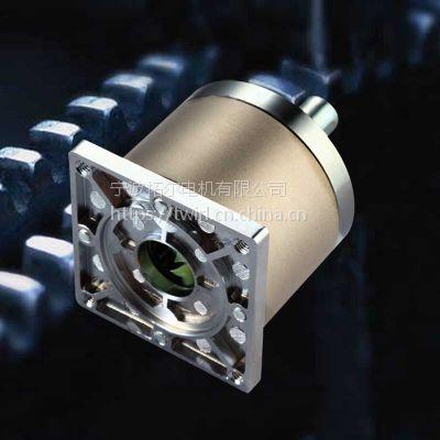 拓尔供应PG56mm行星减速箱 钢齿轮箱 方型法兰配步进马达电机