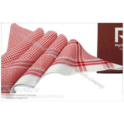 阿拉伯丝光棉提花头巾 Arabian mercerized jacquard scarf