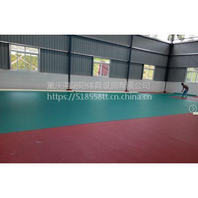 """重庆篮球场,江苏""""银河""""牌EPDM颗粒,YH-6603厚度6mm"""