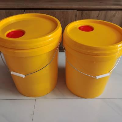 山东20L注塑桶 液体肥料桶 润滑油桶 真石漆塑料桶