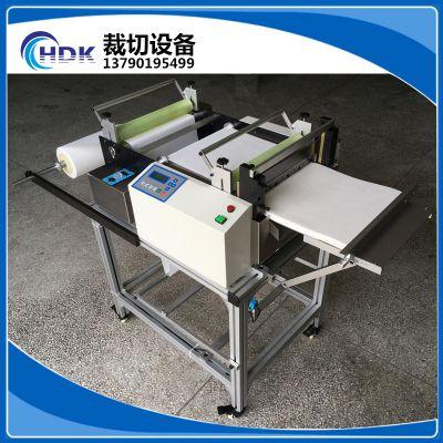 厂家直销HDK-400Z刀宽PC薄膜横切机/ PET保护膜全自动裁切机