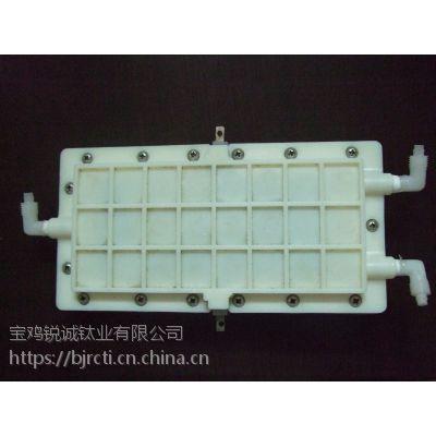 供应消毒水机用酸性电解槽厂家定制锐诚钛业