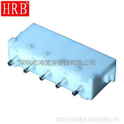 鸿儒63080 6.35 直针_HRB 6.35间距乳白色连接器 空心针
