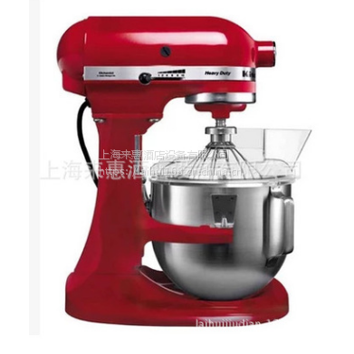 美国厨宝KitchenAid 5KPM5RED 4.8L 升降式厨师机 (帝王红) 美国凯膳怡