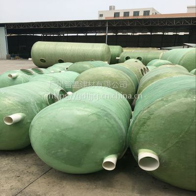 广州番禺直销玻璃钢化粪池 农村家用污水处理设备 沼气池环保设备
