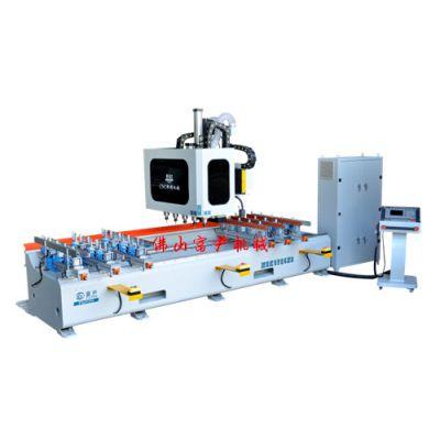 MSK3725数控榫槽机 富尹机械 双排钻高效率
