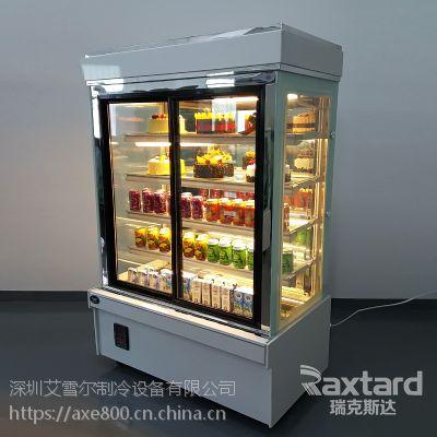 深圳蛋糕柜厂家 蛋糕柜冷藏柜直角展示柜 水果保鲜柜