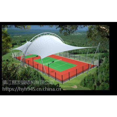 泉州膜结构网球场,三明膜结构遮阳篷设计施工