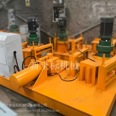 振鹏250型数控冷弯机数控H型钢弯曲机一次自动成型