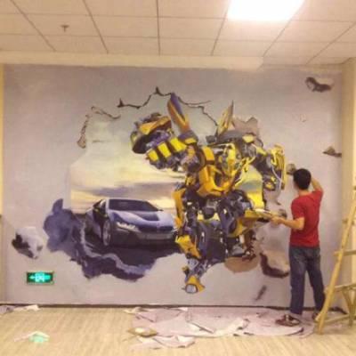 江西南昌幼儿园墙绘手绘墙画壁画公司!