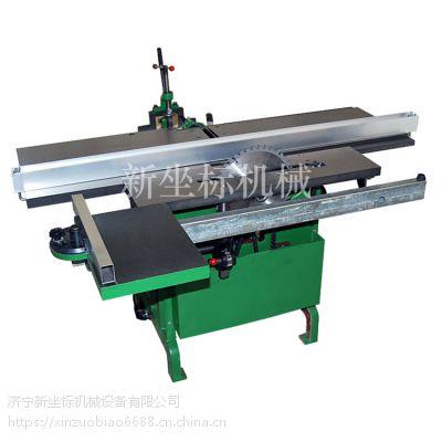 振鹏小型木工机械台式刨床木工刨床钻孔切割一体