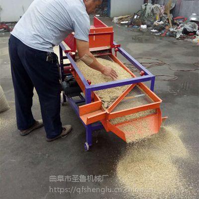 玉米大豆振动筛 家用小麦筛选机 圣鲁订做清粮机