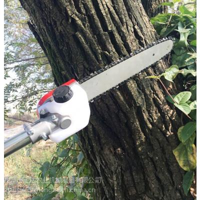 不锈钢管高枝锯 街道绿化树修整高枝锯 两冲汽油动力