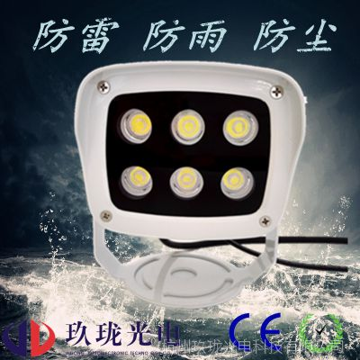 LED监控补光灯 小区道路岗亭停车场摄像头补光灯 智能交通补光灯