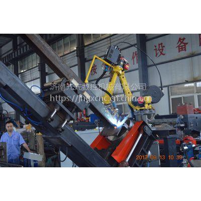 钢结构自动焊接生产线 H型钢自动焊接生产线 济南光先自动焊接流水线
