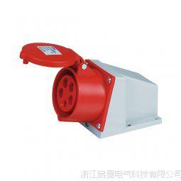 启星QX.115 系列明装插座 16A/5芯工业防水插座