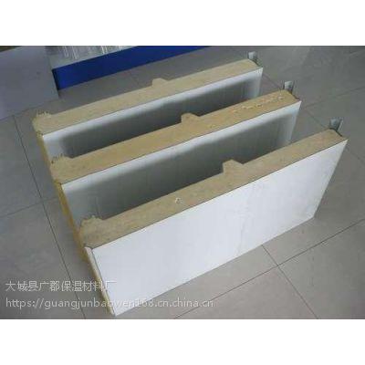 供应北京聚氨酯彩钢夹芯板价格 PUR聚氨酯夹芯板