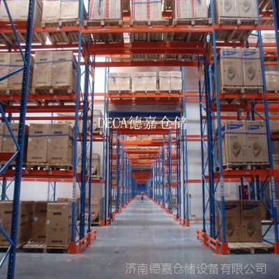济南德嘉 厂家直供重力式托盘货架每层承载2吨重型货架